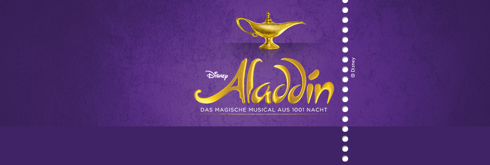 Disneys ALADDIN in Stuttgart - Tickets