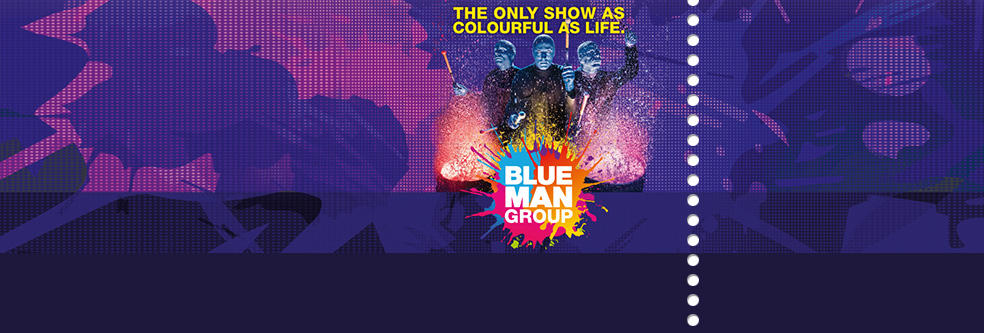 Blue Man Group MÜNCHEN - Tickets