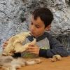 Steinzeitwerkstatt Kleine Forscher
