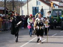 Faschingsumzug in Wernau
