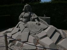Sandskulpturen im Blühenden Barock_13