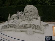 Sandskulpturen im Blühenden Barock_2