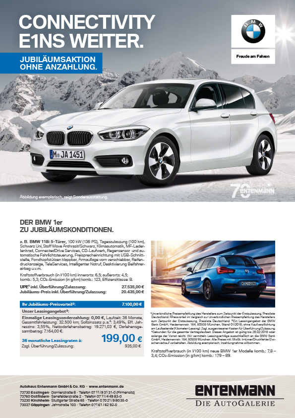 BEE Web BMW 1er AngBlatt X4