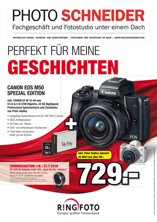 CANON EOS M50 SPECIAL EDITION