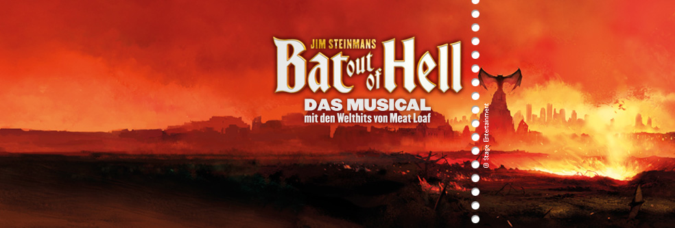bat out of hell tickets ticket