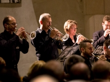 Brass Band B10 in der Martinskirche 8.12.2013
